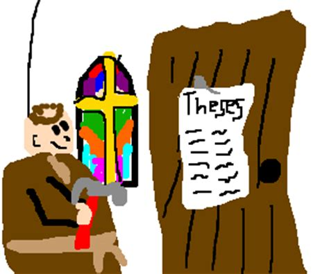 Ninety five theses luther
